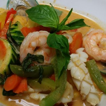 SPECIAL SEAFOOD MANGO CURRY
